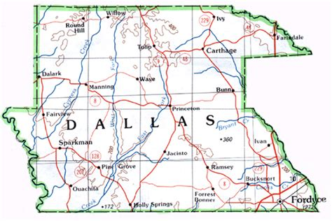 map of dallas county texas dallas county map