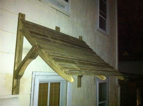 wooden door awning pdf diy how to build wood awning over door download plans