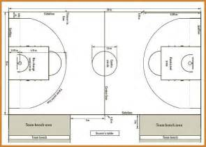 Reservation Letter For Basketball Court Basketball Court Dimensions Fiba 2012 187 Simple Home Design