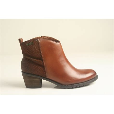 cuero boots pikolinos pikolinos cuero tan leather ankle boot with