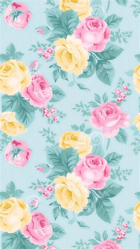 wallpaper flower vintage pastel 103 best images about cute pattern wallpapers on