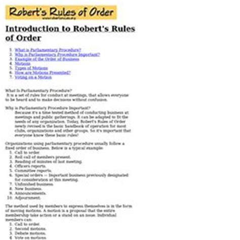 robert s rules of order minutes sogol co