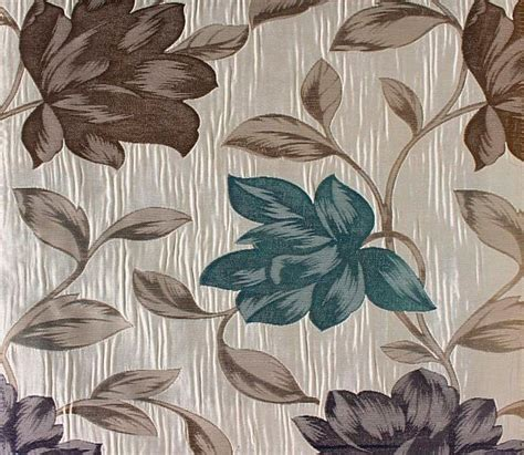 teal and beige curtains custom cream curtains with beige navy teal floral pattern
