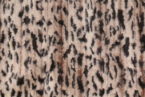 Fur Upholstery Fabric by Michael Jon Designs Mania Faux Fur Decorator Fabric In Skin