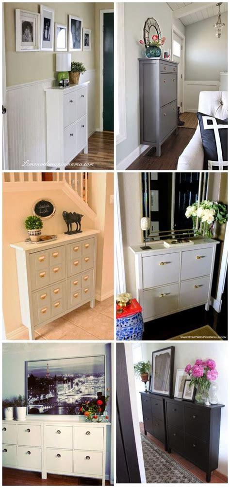 ikea entryway cabinet 1000 ideas about hemnes on pinterest shoe cabinet ikea