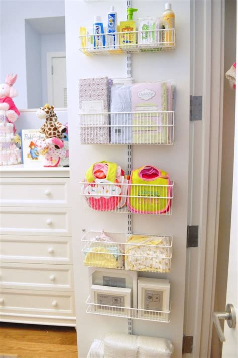 Back Of Closet Door Storage by Diy Closet For Baby The Storage On The Back