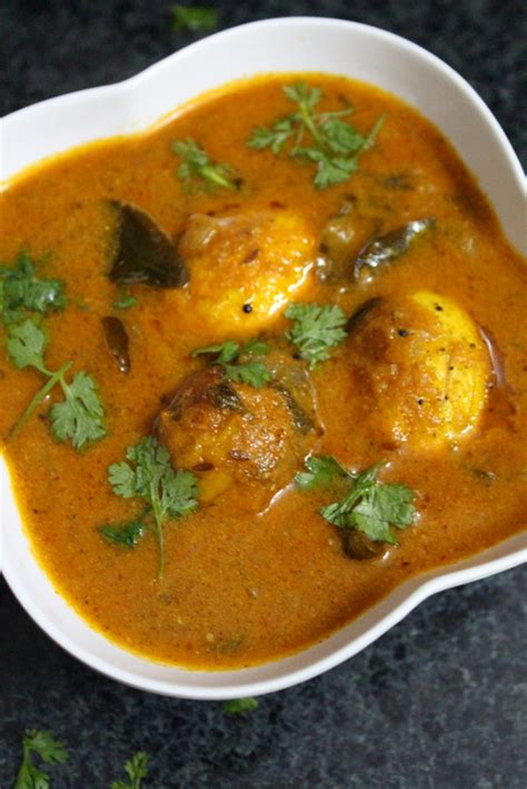 south indian egg curry recipe indian kitchen