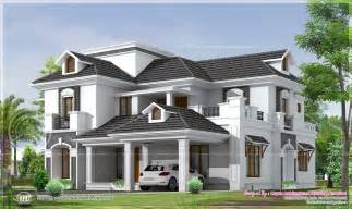 four bedroom houses 2951 sq ft 4 bedroom bungalow floor plan and 3d view home kerala plans