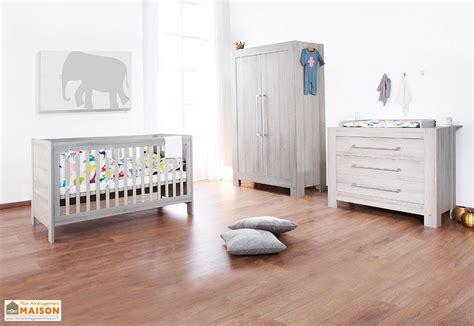 chambre enfant pin chambre de b 233 b 233 en pin et fr 234 ne massif gris somnio