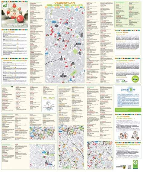 belgium attractions map brussels tourist attractions map