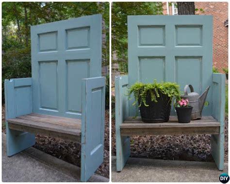 door bench door bench old wood door potting bench