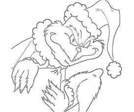 grinch coloring page how the grinch stole coloring pages az
