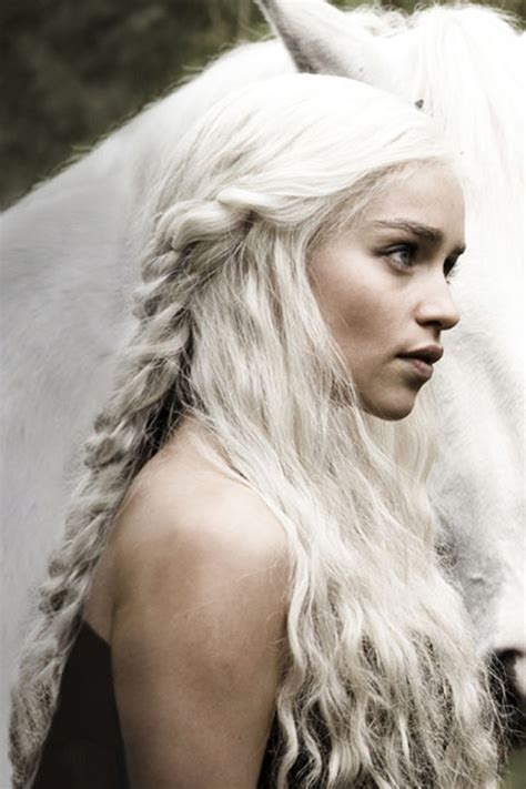 how to do khaleesi braids khaleesi s best hair moments on game of thrones