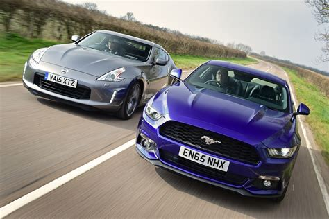 nissan ford ford mustang vs nissan 370z auto express