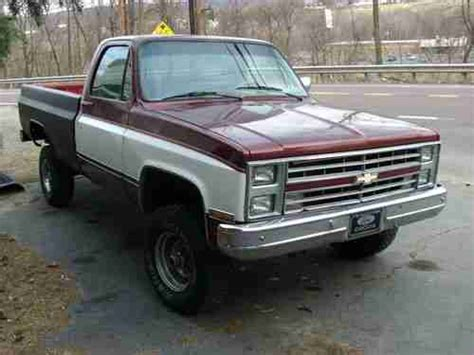 find used 1985 chevy 4x4 project truck in pittston