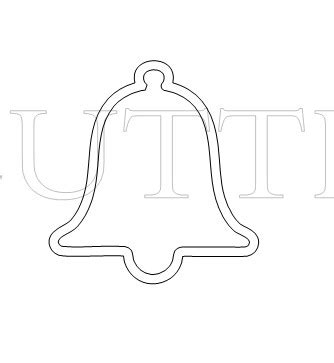 Wedding Bell Template by The Cutting Cafe Wedding Bell Tic Tac Box Holder