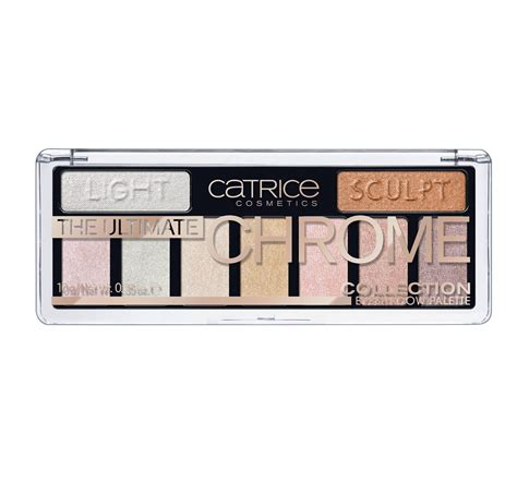 Diskon Catrice The Blossom Collection Eyeshadow Palette catrice the ultimate chrome collection eyeshadow palette 010 heights and lights 10g beautyaz