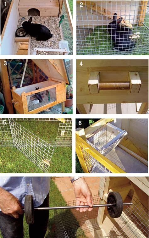 come costruire gabbie per conigli casetta per conigli fai da te bricoportale fai da te e