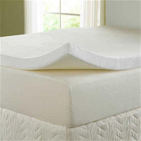 home design visco 3 zone twin memory foam mattress pad topper natures sleep 3 quot visco memory foam topper with 300tc cover