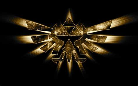 gold zelda wallpaper golden triforce the legend of zelda photo 33428692