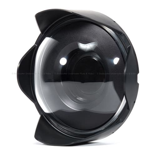 cupola in plexiglass nauticam n120 8 5 inch acrylic dome with shade
