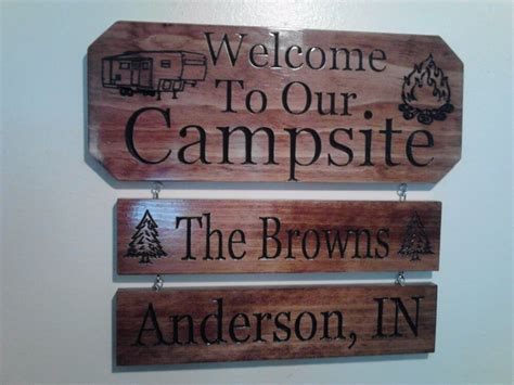 personalized home decor personalized custom carved csite cing wood sign