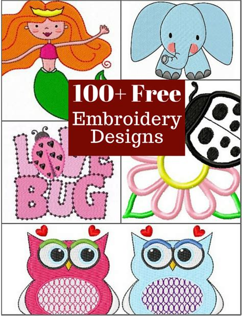 free embroidery templates free embroidery designs the daily seam