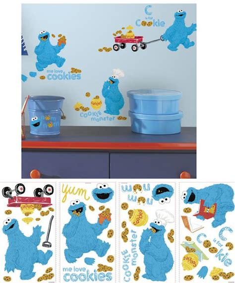 27 best sesame street wall decor images on pinterest