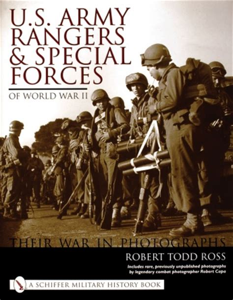 army south books u s army rangers special forces of world war ii their