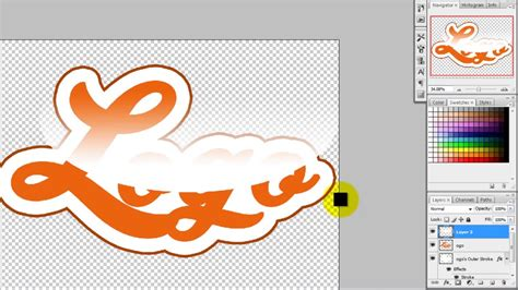 tutorial desain huruf tutorial desain logo typography youtube