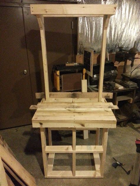Hometalk   Pallet Coat Rack