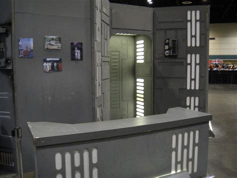 star wars interior design star wars celebration v death star hallway recreation
