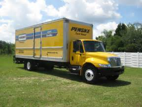 Truck Rental Penske Truck Rental International 4300 Box