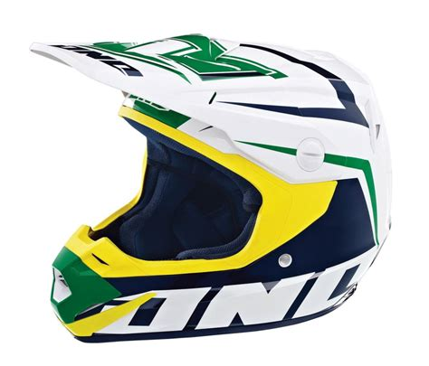 green motocross helmet one industries atom array mx motocross helmet kelly green