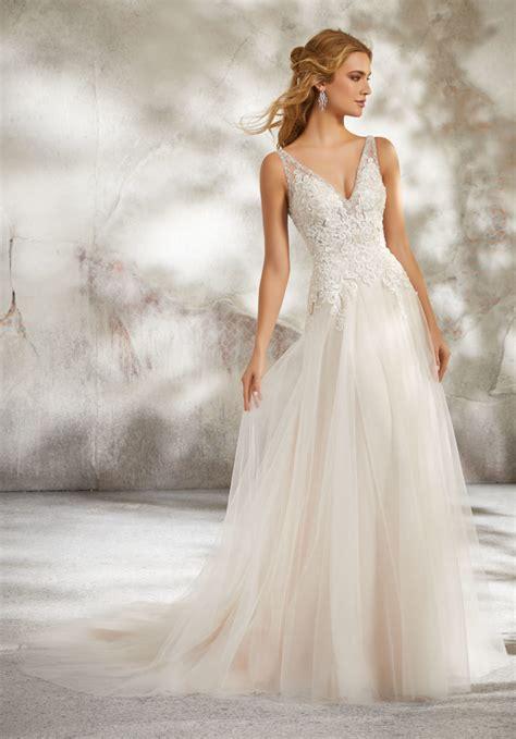 luana wedding dress style 8277 morilee