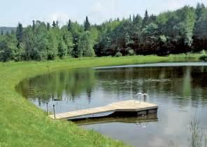 Backyard Ponds Kits Pond Docks Floating Docks For Ponds