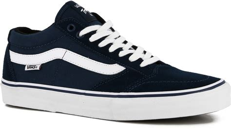 skater shoes vans tnt sg skate shoes navy white free shipping