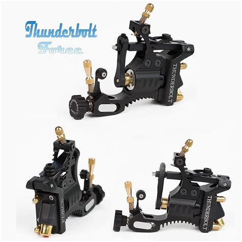 hot sales lots 2 x rotary tattoo machine guns full 2015 new hot sale arrival thunderbolt force description