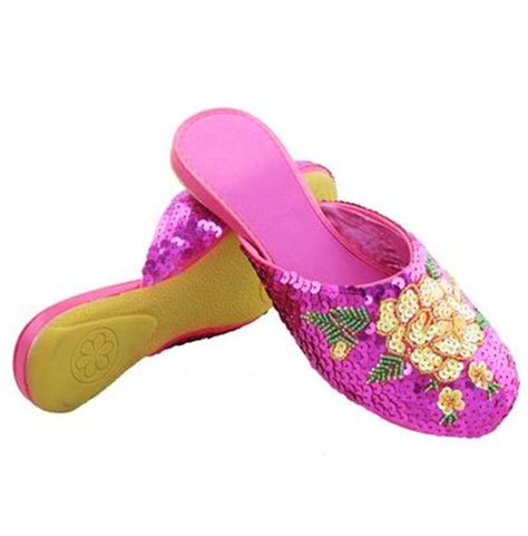 chinese house slippers popular chinese embroidered slippers buy cheap chinese embroidered slippers lots from