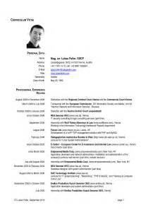 European Curriculum Vitae Format by Template Design Part 31