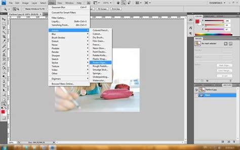 tutorial desain grafis photoshop cs4 semua tentang desain grafis efek foto kartun dengan