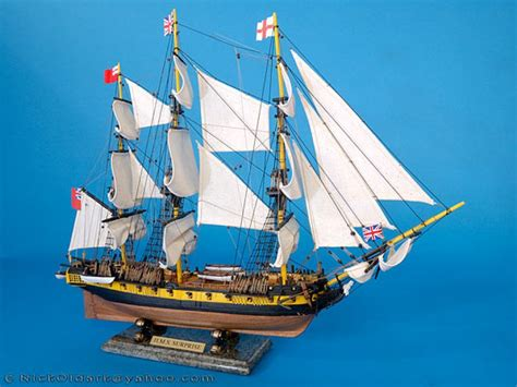 Handcrafted Ship Models - buy master and commander hms model ship 30