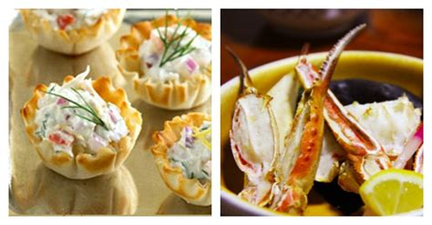 phyllo cup crab appetizers  cream cheese easy party