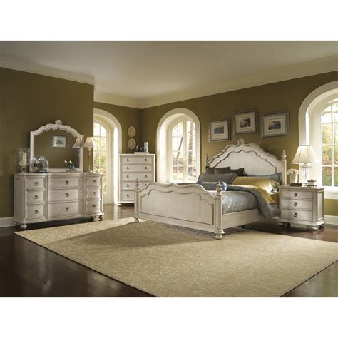 bedroom sets provenance panel 4 piece queen bedroom set by a r t furniture