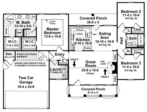 what is a split bedroom floor plan country style house plans plan 2 139