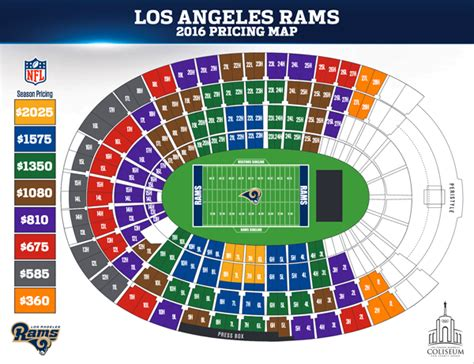 los angeles rams season ticket prices released canyon news