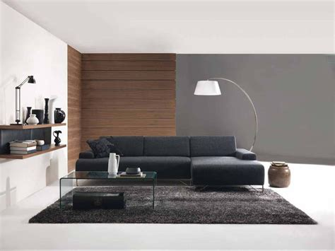 minimalist room design modern leather sofas create maximum impact with a