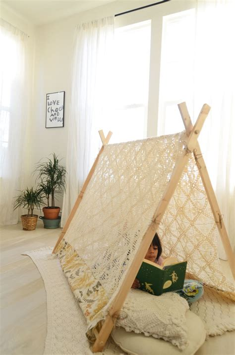 how to make a canopy diy a frame tent a beautiful mess