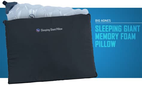 Big Agnes Sleeping Memory Foam Pillow by The Best Cing Pillows For Cosy Wilderness Sleeps Cool