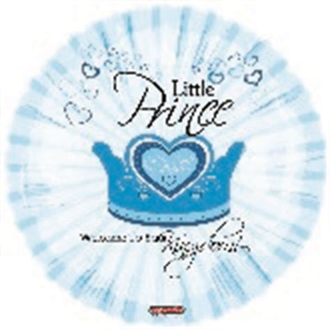 Balon Foil A New Prince Birthday